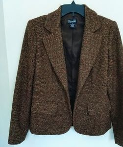 Rafaella Tweed Wool Blazer